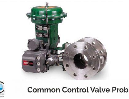 Common Control Valve Problems