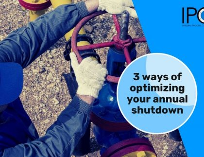 3 ways of optimizing your annual shutdown