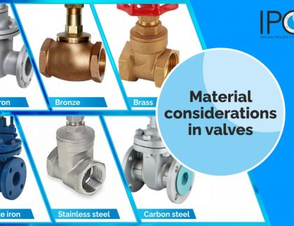 Material considerations in valves