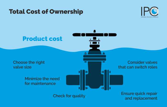 IPNL Tips to reduce total cost of ownership of valves