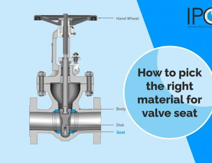 How to pick the right material for valve seat