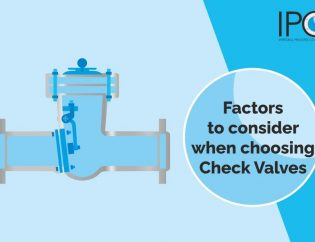 Factors to consider when choosing a check valves