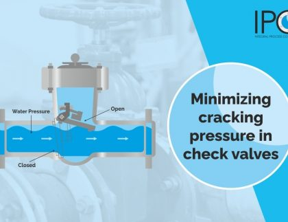 considered cracking pressure when choosing your check valve